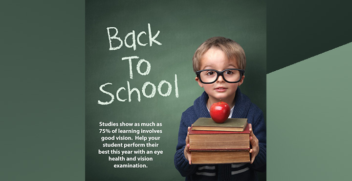 back to school designer sunglasses frames lenses contacts pediatric eyecare local eye doctor near you
